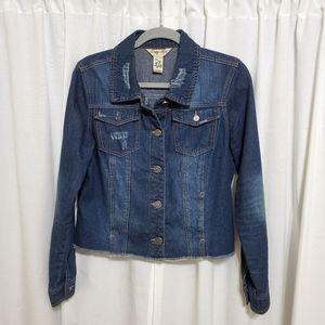Indigo Rein Jean Jacket size XL